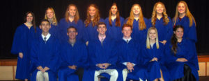 14 inducted into the Marian Chapter of the National Honor Society