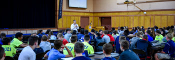 August – Freshman Forum (orientation)
